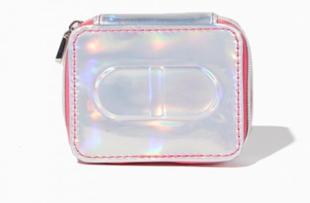 The Best Last Minute Holiday Gifts for Women Who Love Travel Metallic Pill Case