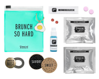The Best Last Minute Holiday Gifts for Women Who Love Travel Brunch Pinch Minimergency kit