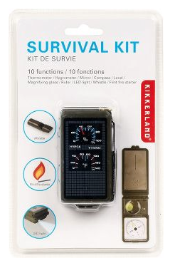 The Best Last Minute Holiday Gifts for Women Who Love Travel Camping survival kit