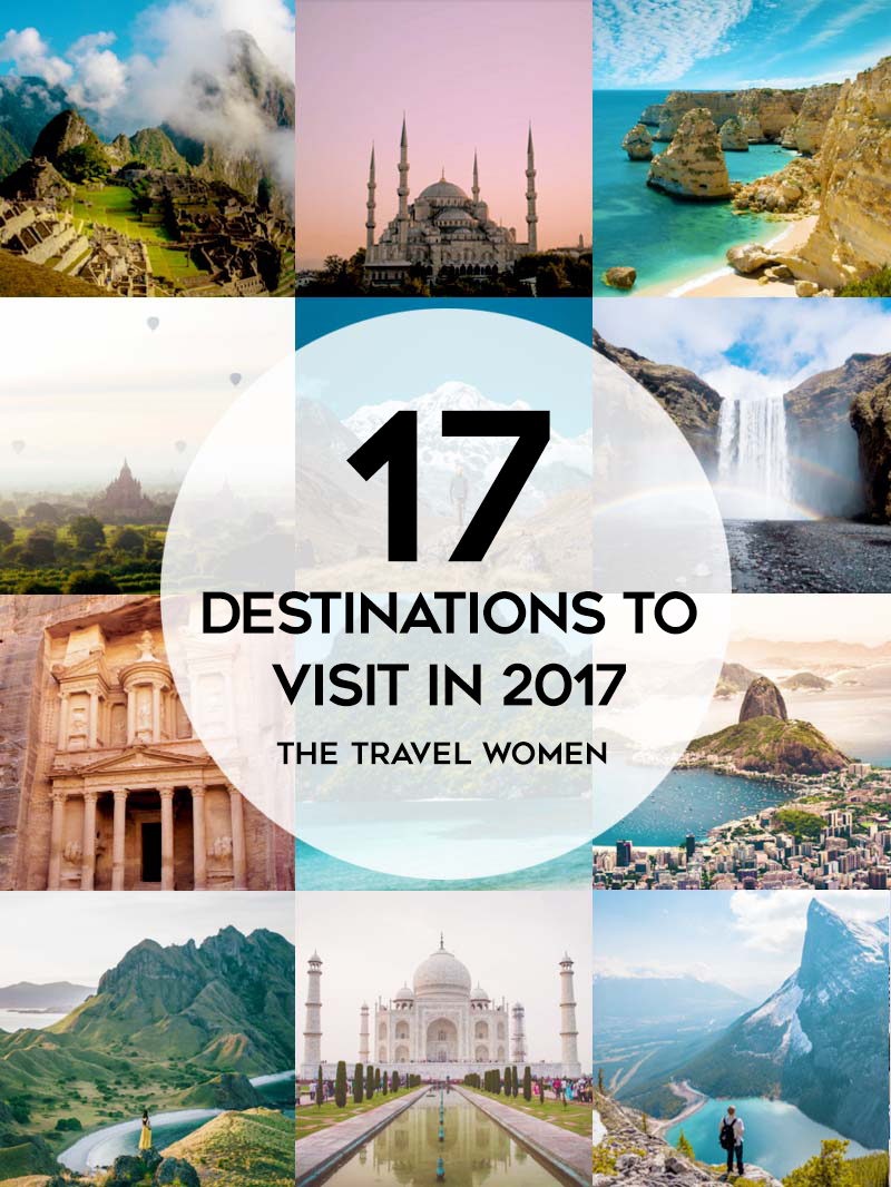 17 Destinations to visit in 2017