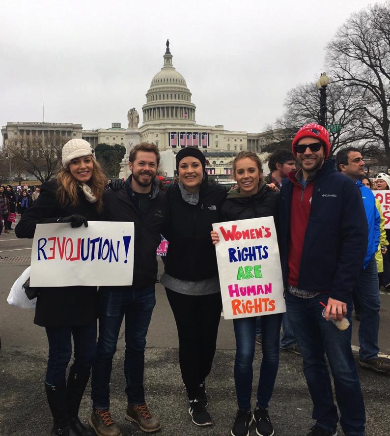 Women's March Washington Anne Foss
