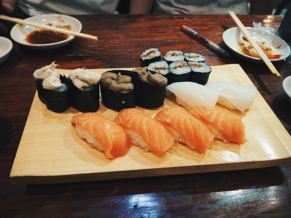 Sushi Guide to Tokyo