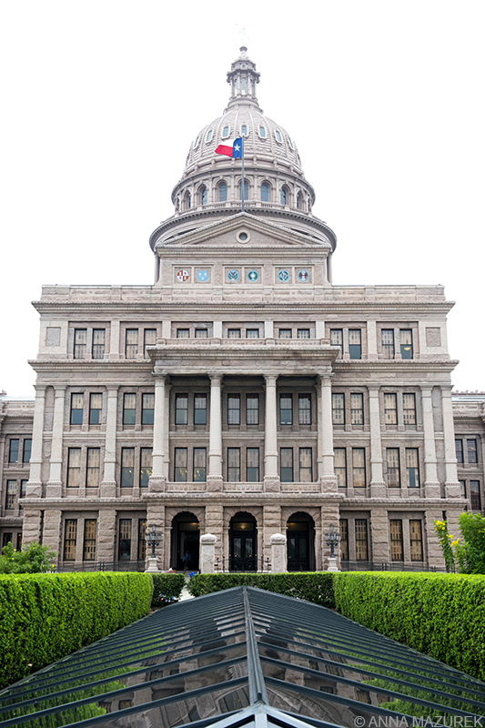 Texas State Capital building Austin Texas SXSW