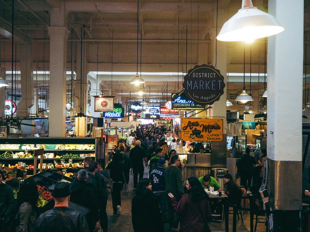 Grand Central Market Top 11 things to do in Downtown Los Angeles LA Claire Travel Women