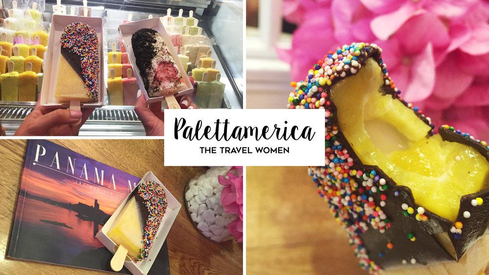 Palettamerica ice cream Casco Viejo Panama City Jennifer O'Brien The Travel Women