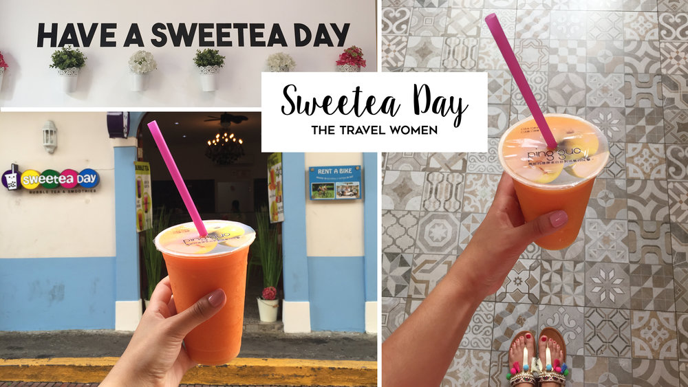 Sweetea Day Bubble tea boba Casco Viejo Panama City Jennifer O'Brien The Travel Women