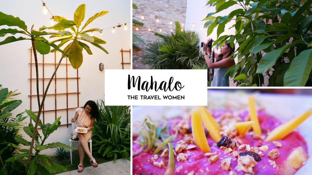 Mahalo Yoga garden Casco Viejo Panama City Jennifer O'Brien The Travel Women