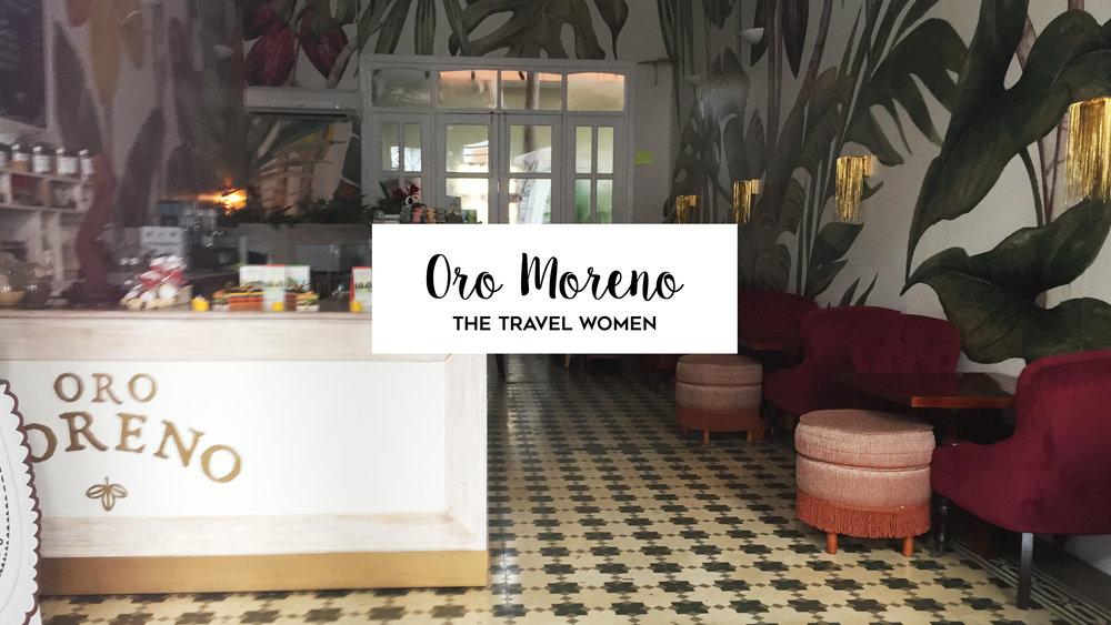 Oro Moreno Panamanian chocolate Casco Viejo Panama City Jennifer O'Brien The Travel Women