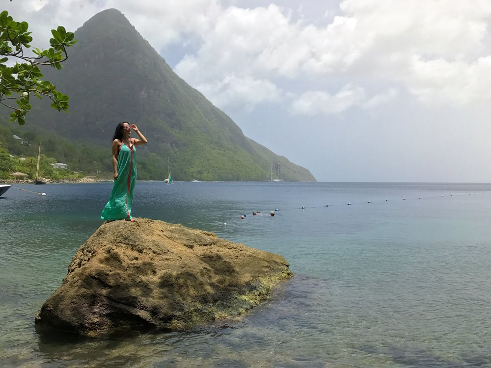 Real St Lucia Tours The Travel Women Viceroy Sugar Beach