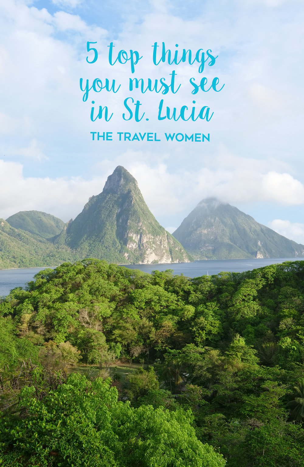5 top things you must see in st lucia
