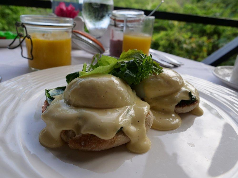 Anse Chastanet Saint Lucia Eggs Benedict