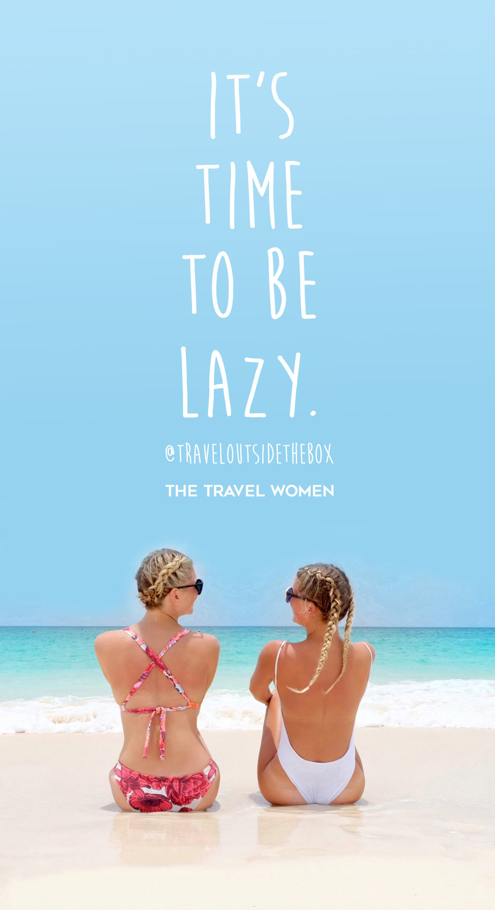 It's time to be Lazy One and Only Bahamas The Travel Women