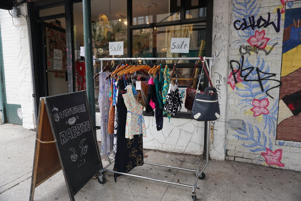 Rabbits Best Vintage Clothing Stores in Williamsburg Brooklyn NYC, The Travel Women