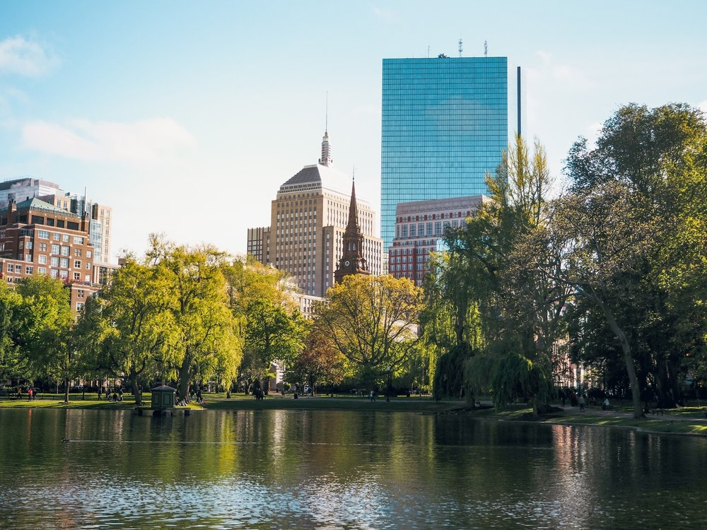 Guide to Boston, Massachusetts, USA, The Travel Women, Claire Wang Boston Public Gardens Boston Common
