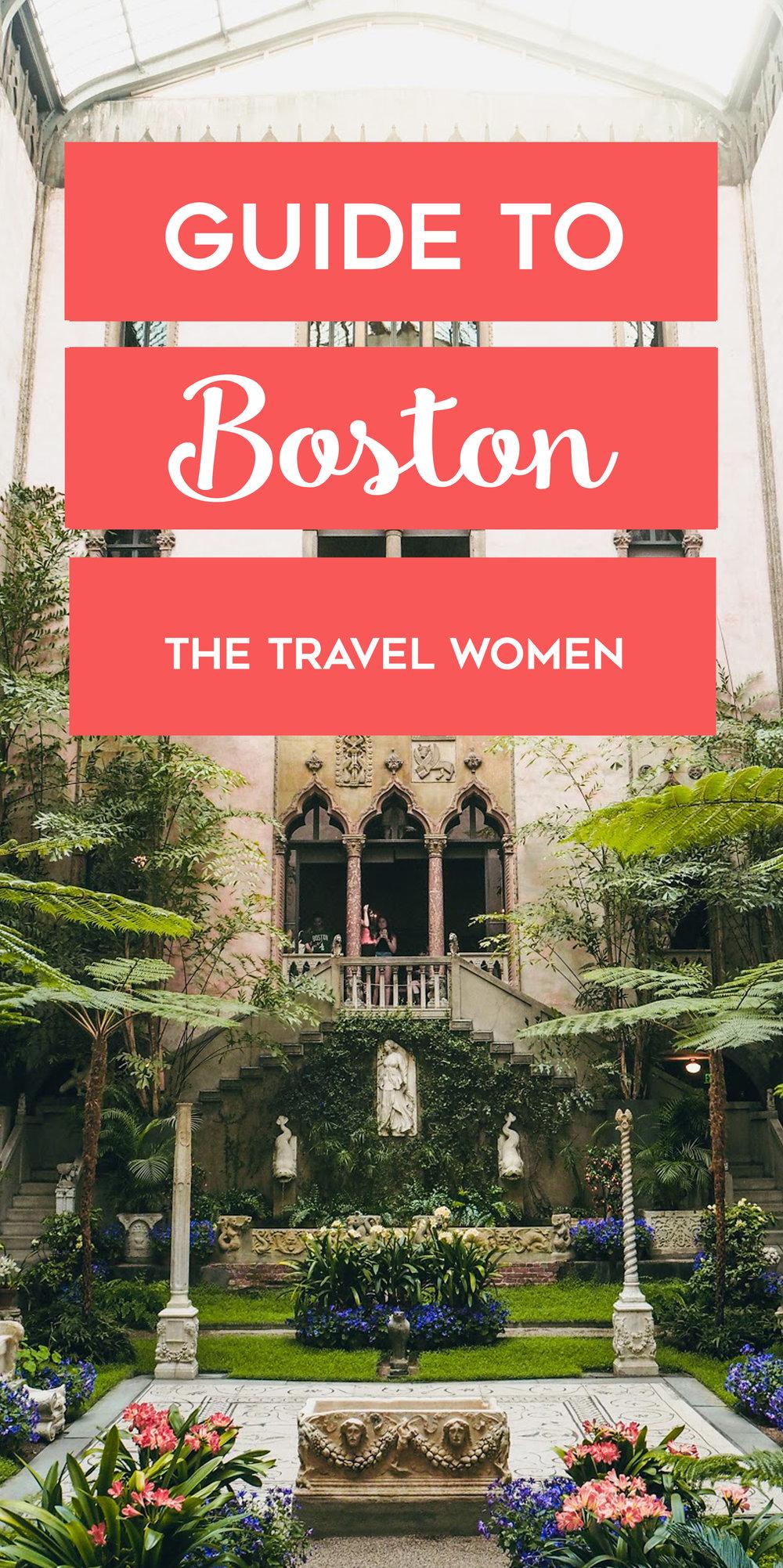 Guide to Boston Massachusetts, USA, The Travel Women