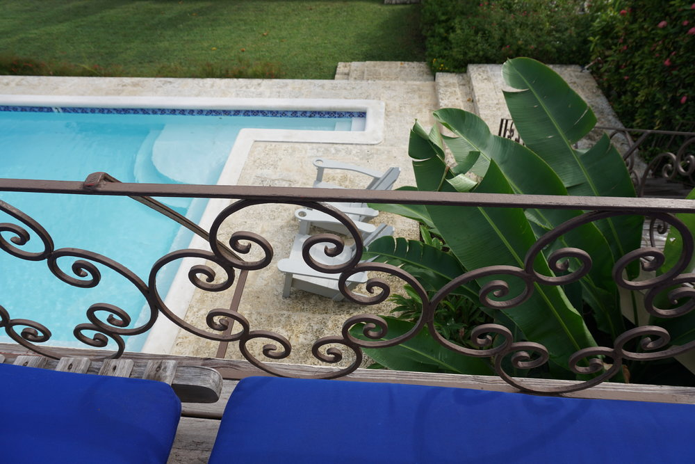 Bluefields Bay Villas Jamaica Resort Review The Travel Women private pool banana leaves