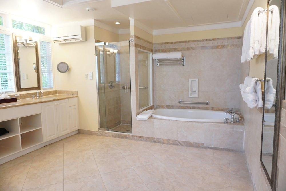 Half Moon Jamaica Luxury Resort Review The Travel Women bathroom tub