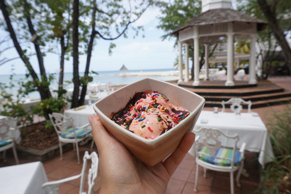 Half Moon Jamaica Luxury Resort Review The Travel Women guava ice cream