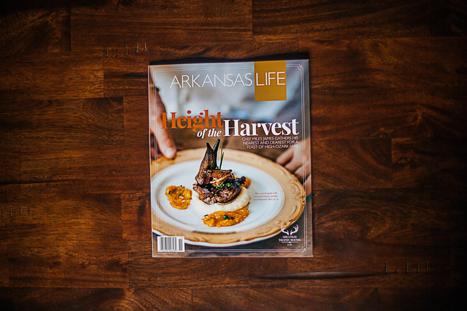 Fayetteville, Arkansas - Lifestyle Photography for the cover of Arkansas Life Magazine's November edition