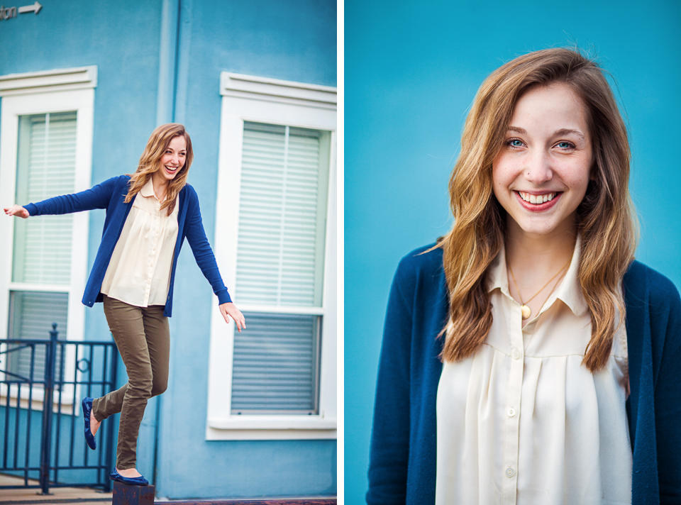 Portrait photographers Hatch And Maas Collective photographed Molly in Fayetteville, Arkansas.