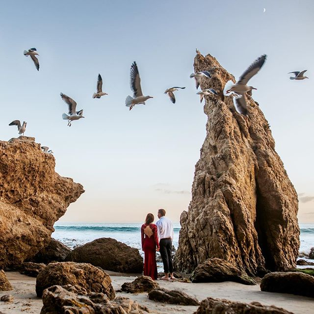 Incredible couple + beautiful location. It's hard to go wrong. Excited to be photographing their wedding next year!