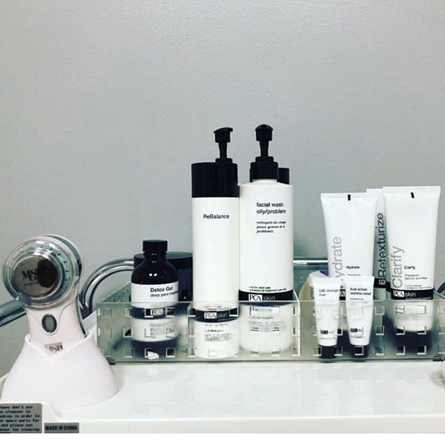Custom facials with @pcaskin and MYSKINBUDDY 🙌🏼 - Thanks @balaserspa for giving us a sneak peek into your treatment room! #pcaskincare #effectiveskincare #facialtreatments