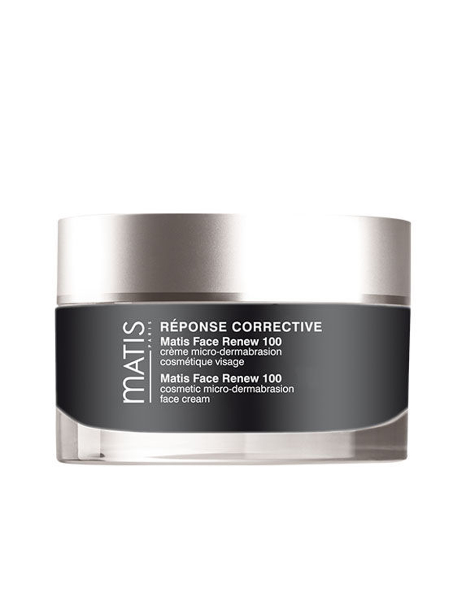 Matis Face Renew 100 - Directly inspired by microdermabrasion in aesthetic surgery, the formula of Matis Face Renew 100 is based on the same fine, abrasive particles that:Improves skin textureBrightens complexionImproves wrinkles and irregularitiesCreates a new skin effect