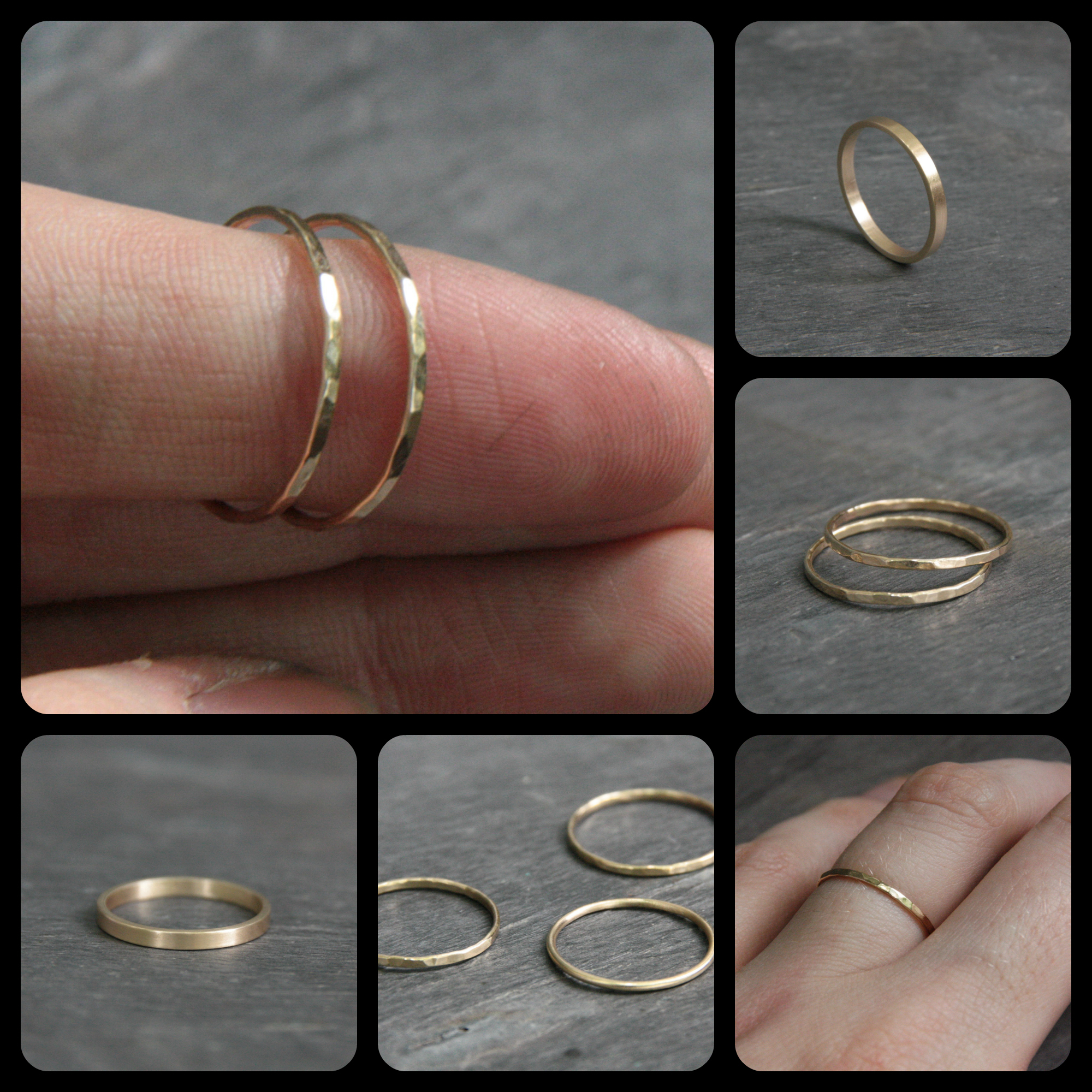 jewelry, handmade, gold rings, gold