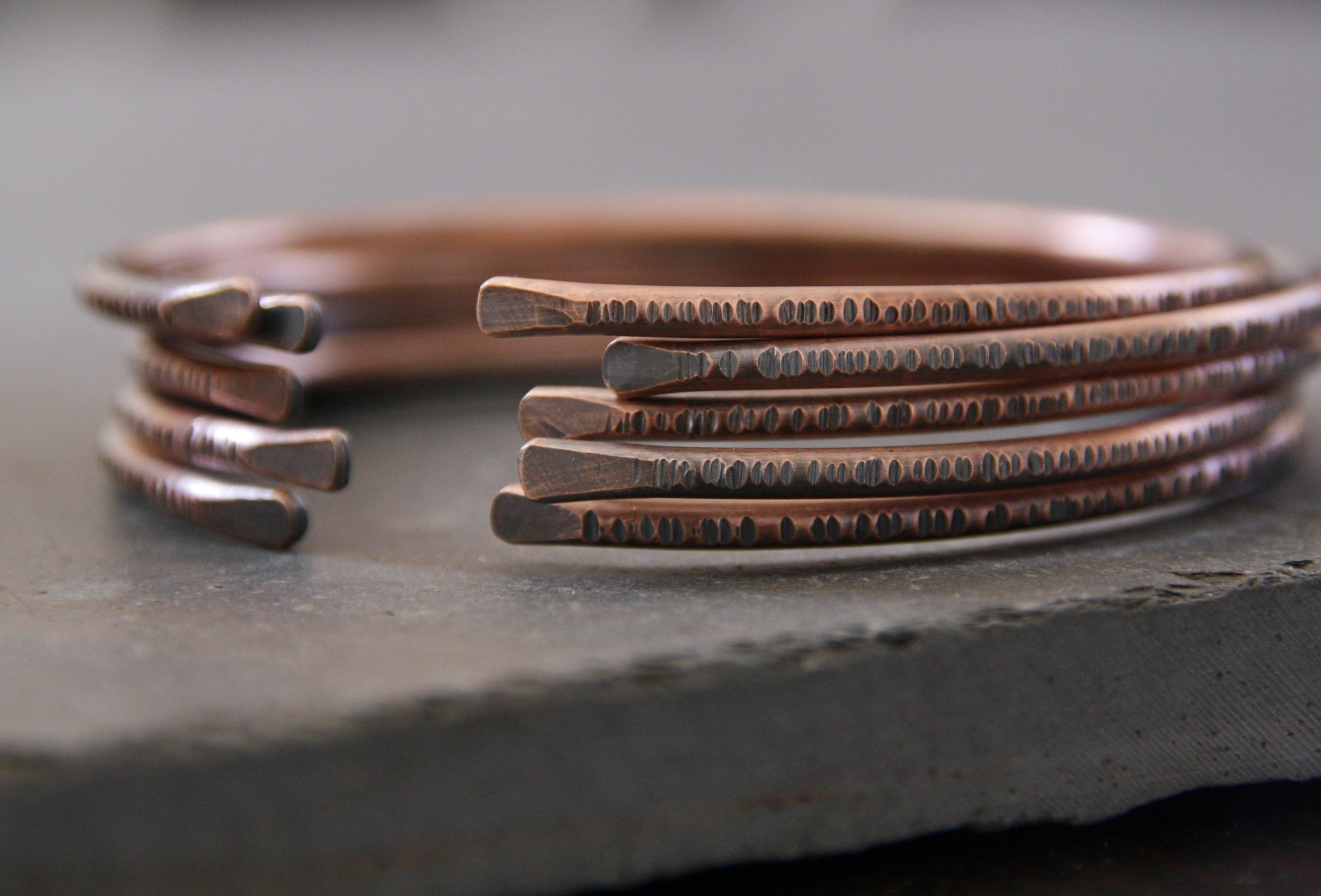 jewelry, bracelet, copper, handmade