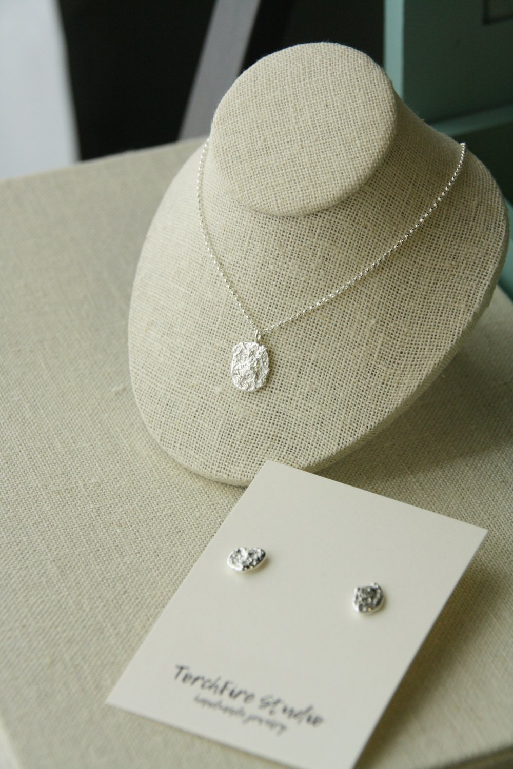 Reticulated Silver Jewelry
