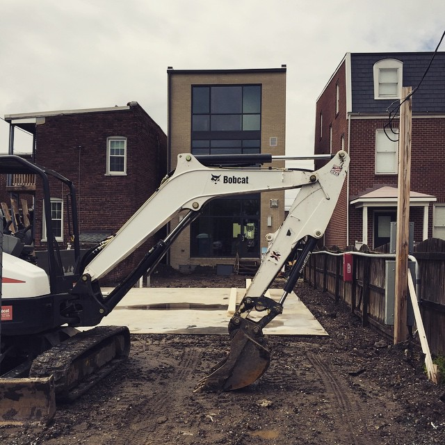 Backfilling the infill project! #peak3construction