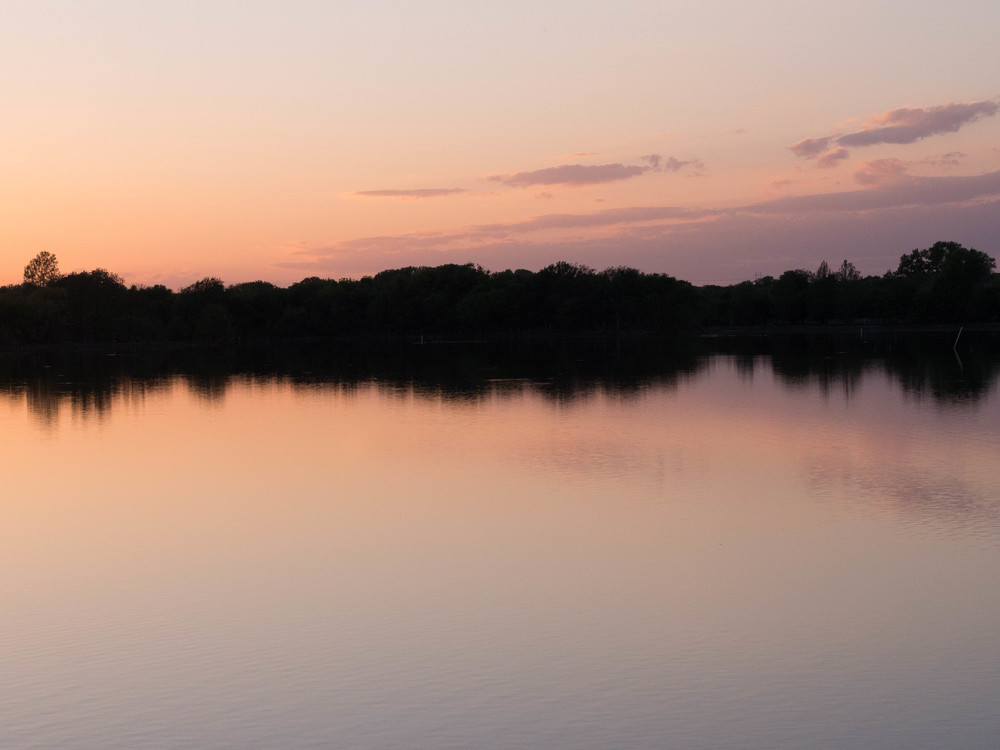 Oklahoma Lake Sunset