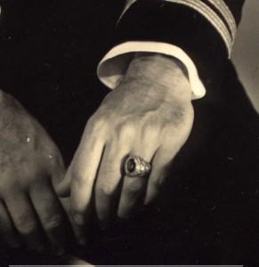 L'anneau de Minter sur la main