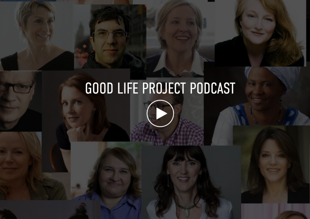 Good Life Project - With Jonathan FeildsThis is one of my go to podcasts. Jonathan has a relaxed conversation style going with everyone he interviews. I'm always learning something new and feeling inspired from these interviews.