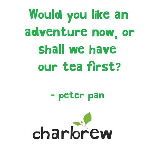 Life is an adventure! What's your favorite adventure ? #charbrew #tea #tealover #humpday #nyc