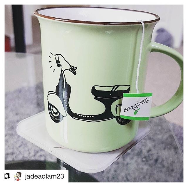 #Repost @jadeadlam23 ・・・ This lazy Weekend was well overdue #charbrew #tea #newhome