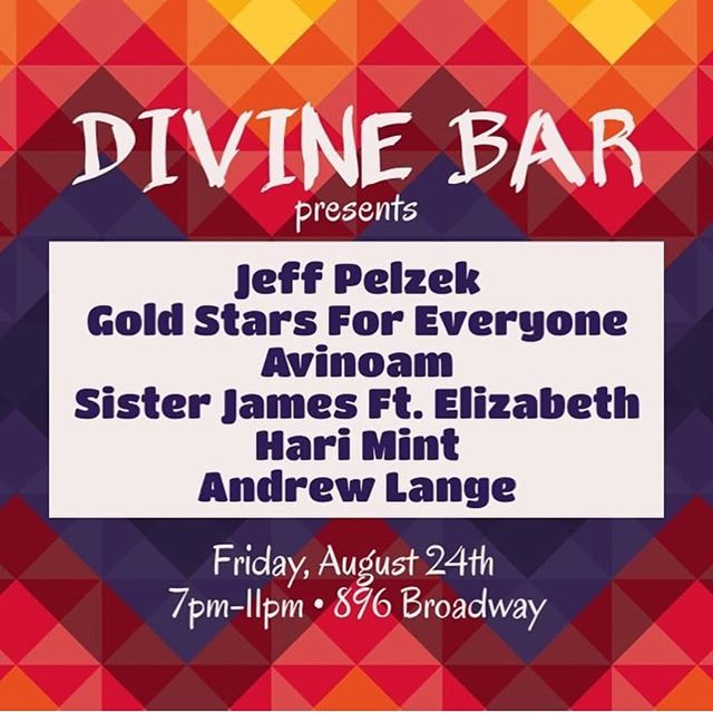 We got some more #music coming at you tomorrow night! Come hang out with us for another patio jam sesh!!! FREE SHOW! Featuring: @hari_mint  @uncle_bbq  @sisterjamesband  @aavinoamm  @goldstars4everyone  #brooklyn #bushwich #nyc #livemusic #patio #fridaynight