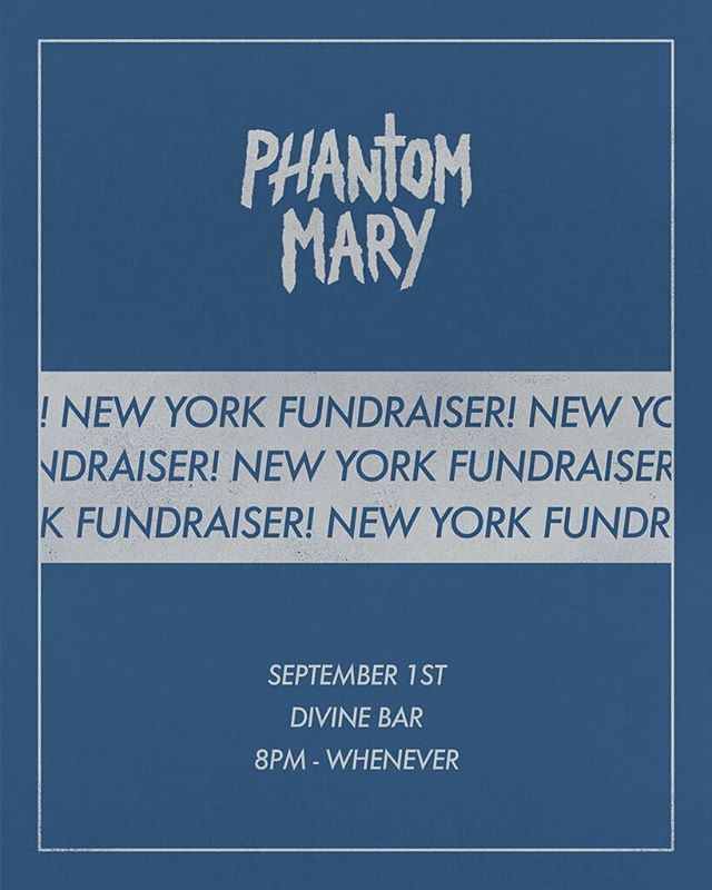 NEXT SATURDAY!! One of our beloved regulars @ohineedtochill is having a fundraising event for his film @phantommaryfilm!!! Stop by, have a drink, and give some love his way on our patio at 8pm! . You can also donate to the kickstarter for Phantom Mary (link in bio on @ohineedtochill  page) . #thingstodoinnyc #newyork #nyc #fundraising #kickstarter  #phantommary #brooklyn #bushwick
