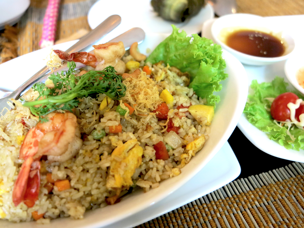 Thai-styled Pineapple Fried rice