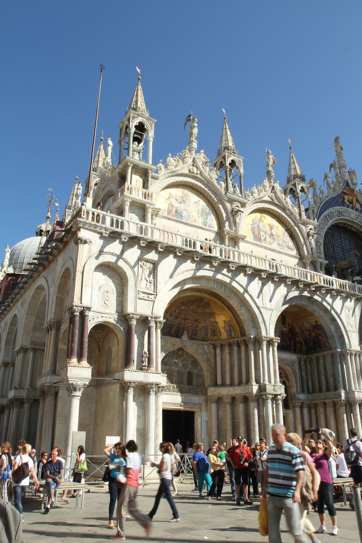 Quảng trường St.Mark's với St.Mark's Basilica