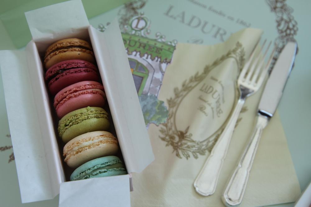 Bánh macaron ở Ladurée