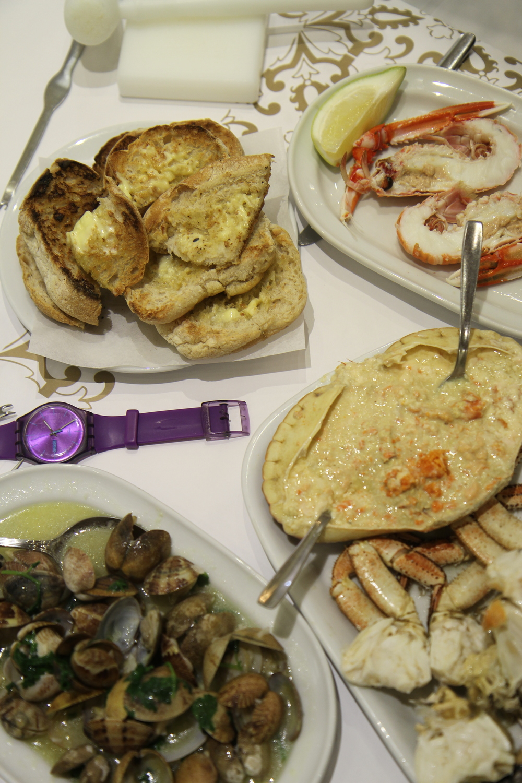 Seafood in CERVEJARIA RAMIRO
