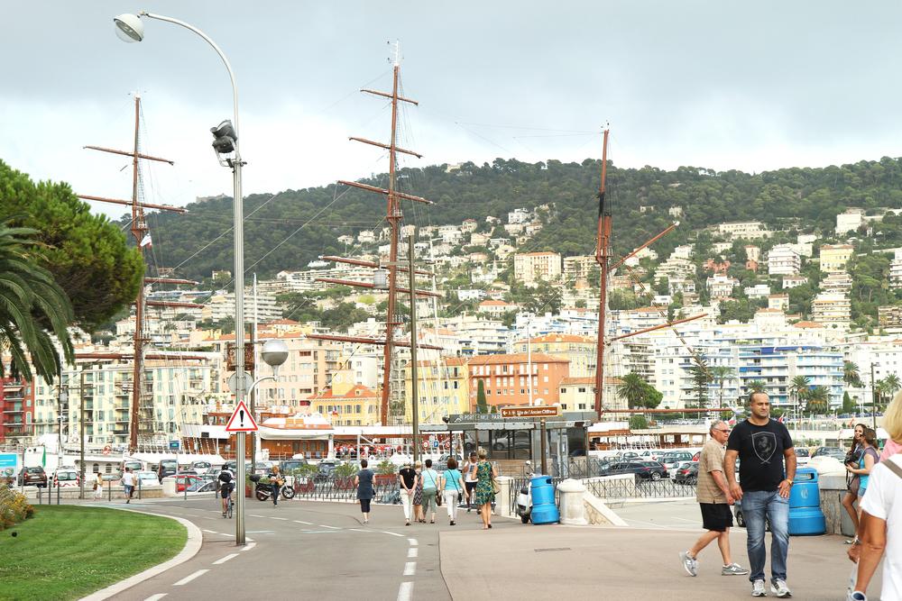 cảnh ở Nice