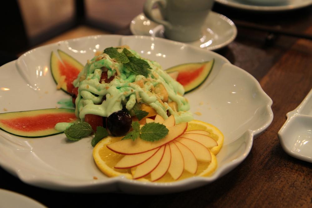 Salad hoa quả (110.000 đồng)