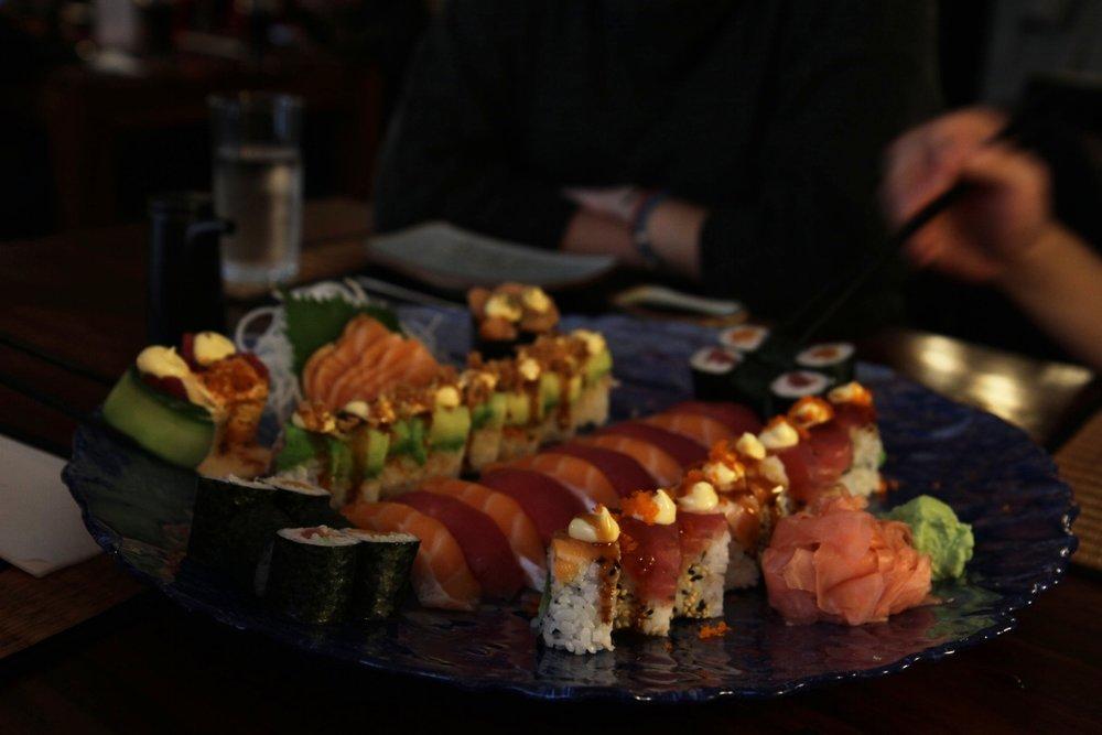 Sushi & sashimi plate@Sushi Passion - Birmingham, UK