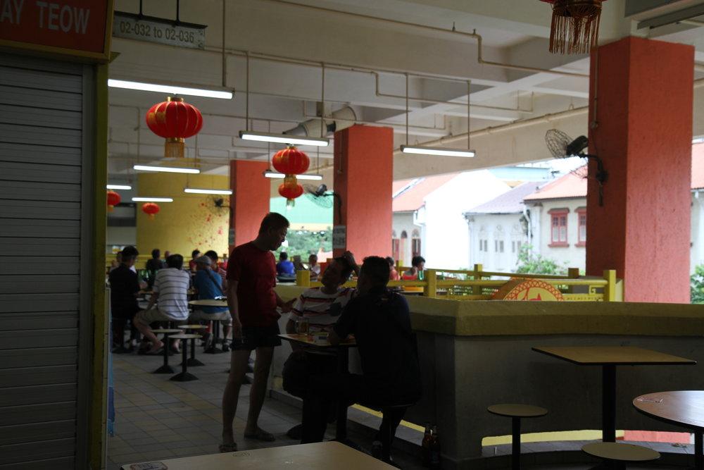 Hawker center Singapore