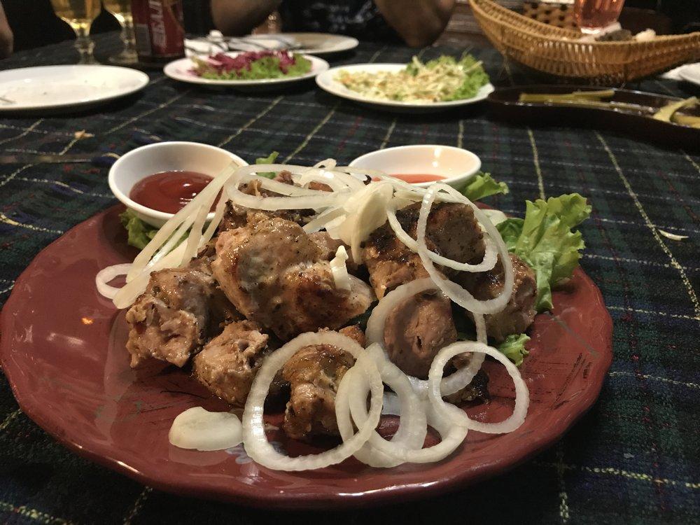 Thịt lợn nướng (Shashlik)