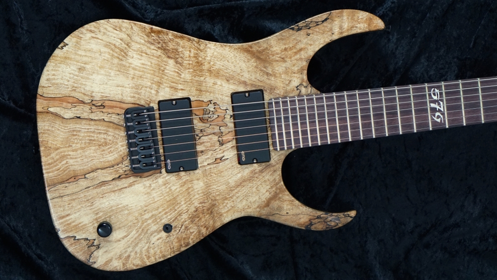 S7G Cobra 7 String - Spalted Maple