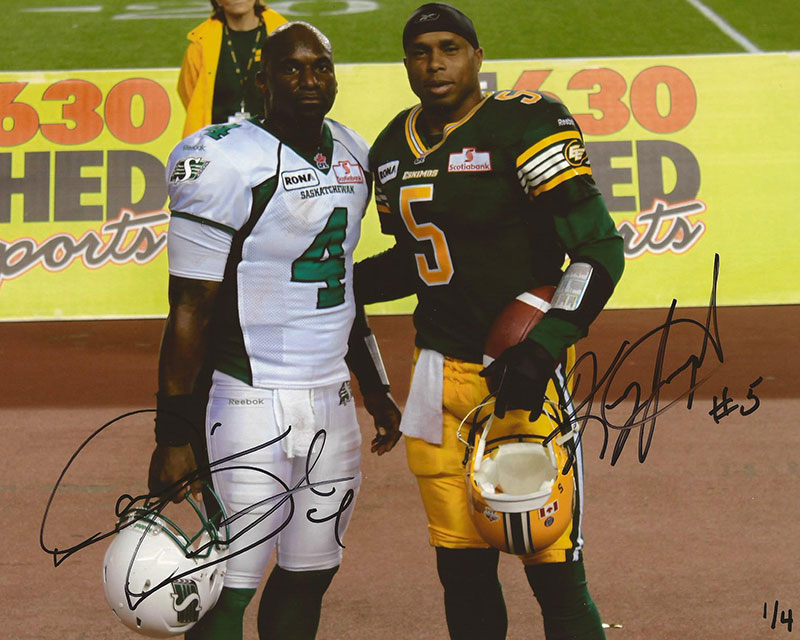 Dual Autographed w/ Kerry Joseph (signed in black ink) Only 4 available in each size, individually numbered to 4 8x10 - $90 + $5 shipping 11x14 - $145 + $5 shipping