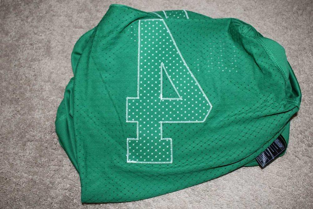 f37536f1582 Darian Durant Autographed Adidas Retro Saskatchewan Roughriders Jersey